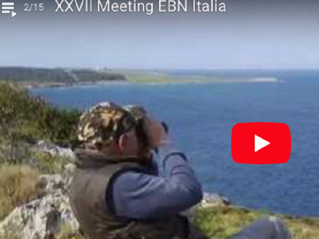 Video: Meeting EBN Italia Capo d´Otranto 2017